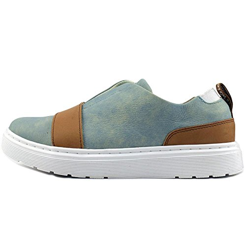 Lylah Coronet on Blue Tan Slip Dr Martens Women's Loafer 6Tnq6ZEx