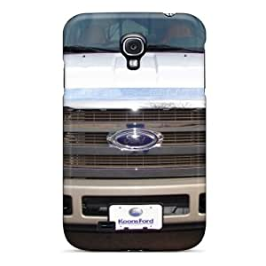 Shockproof Hard Phone Covers For Samsung Galaxy S4 (AIi14854UGYg) Unique Design Lifelike Ford Truck Skin