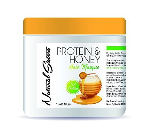 Protein and Honey Deep Conditioner : 5X Deep Conditioning Ha