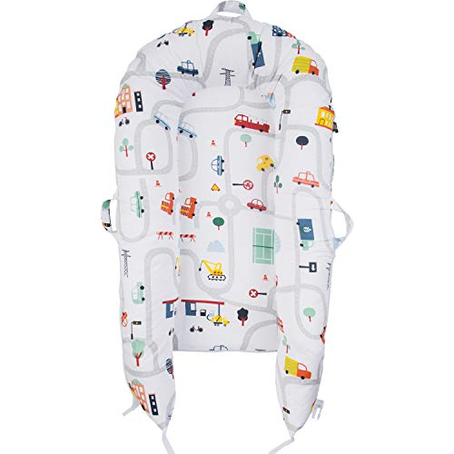 Cover Only Baby Blue Perfect Fit for DockATot Docks Organic Cover for DockATot Deluxe 100/% Certified Organic Cotton Newborn Lounger Replacement Cover Hypoallergenic
