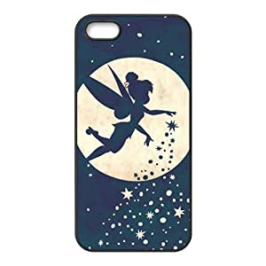Romantic flying Flower FairyCell Phone Case for iPhone 5S