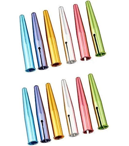 BCP 50pcs Random Color Plastic Pencil Cap Pencil Protector OIC