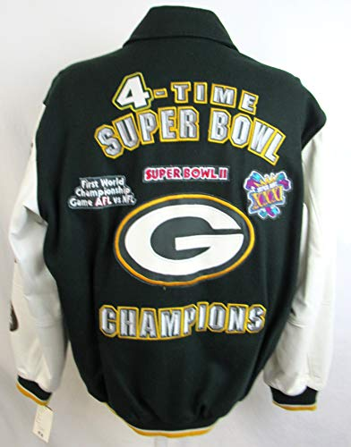 G-III Sports Green Bay Packers Mens Size Medium Wool/Leather for sale  Delivered anywhere in USA