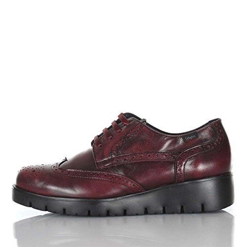 Zapatos Callaghan Mujer Burdeos para Cordones Oxford Haman de 7v5nqvwgT