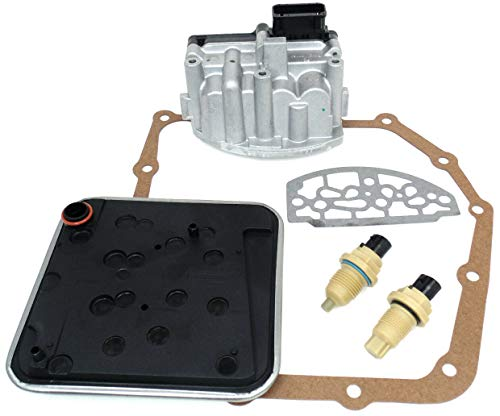 (A604 41TE Transmission Shift Solenoid Service Filter Kit w/Speed)