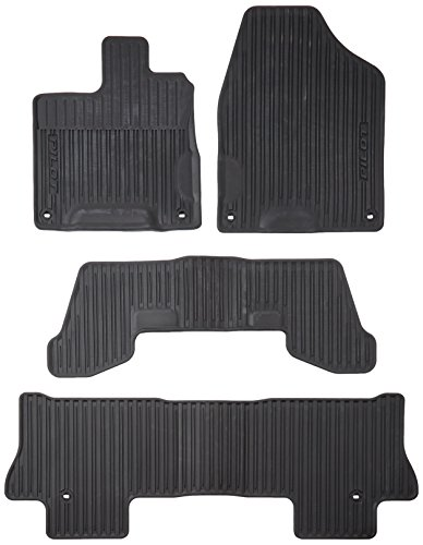 Genuine Honda 08P17-TG7-100 All-Weather Floor Mat for 2016 (Genuine Honda Pilot)