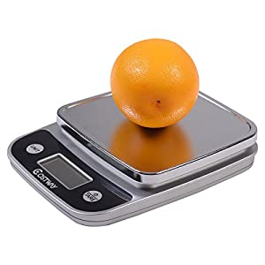 Edxtech 11lb x 0.04oz LCD Digital Kitchen Weight Scale 5Kg x 1g Food Diet Postal Slim