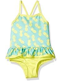 Baby Girls Pinneapple Print One Piece Swimsuit