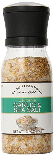 Olde Thompson Garlic (Olde Thompson California Garlic and Sea Salt Adjustable Grinder, 12.1)