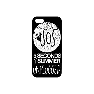 New Protective Durable Plastic and TPU Case for Apple iPhone5/5s [Black &White] iPhone Case 5 seconds of summer printing