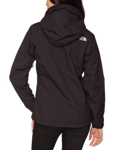 Morado Chaqueta The North Color Face Negro Para Mujer xYgZqw4g