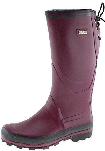 Nokian Footwear Finnjagd - Botas de goma para hombre rojo - Wine