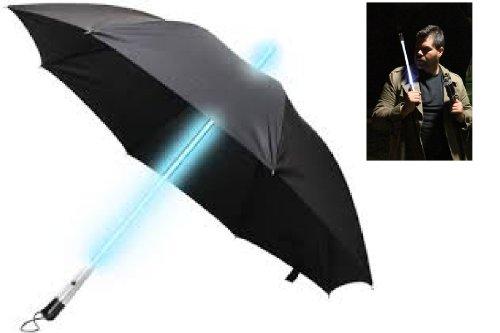 ZHOL Blade Runner Style LED Umbrella, 32.5-Inch