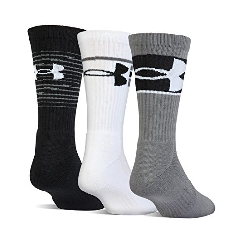 Under Armour Boy`s UA Phenom Crew Socks 3 Pack