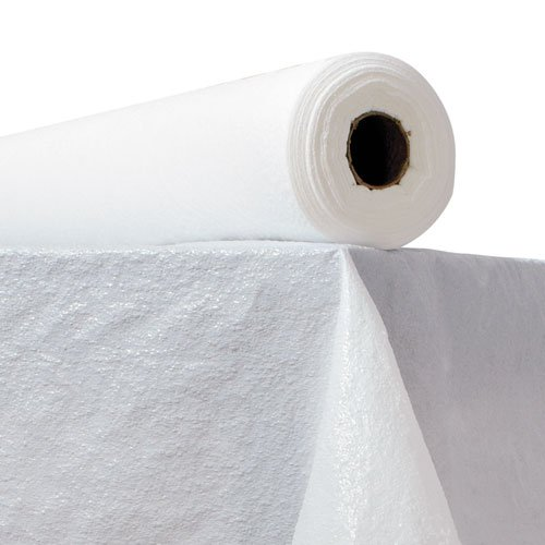 TABLECOVER,PLAS,40X300,WH   B0002ZWJKW