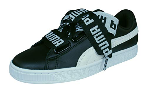 Puma Shoes Basket Heart De Wn��s black/white size: 37