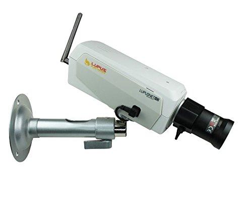 Lupus Electronics LUPUSNET HD LE 924 WLAN Full HD Megapixel Netzwerkkamera IP Kamera inklusive deutscher 36 Kanal Software, 10924