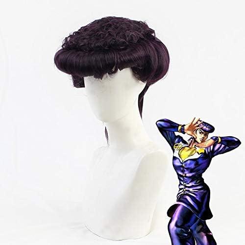 cosplay wig for JOJO/'s Bizarre Adventure josuke higashikata synthetic hair party