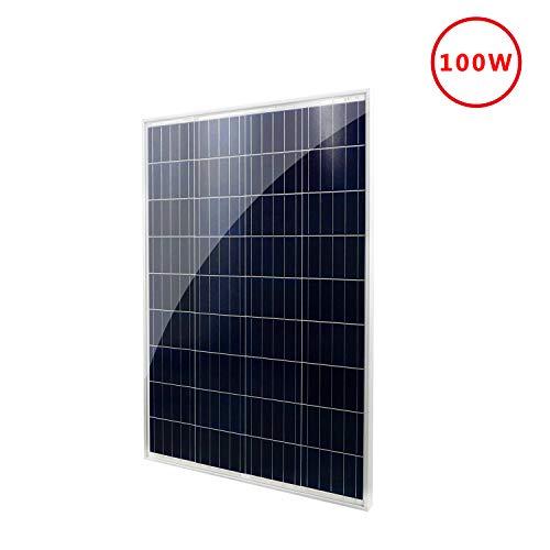ECO-WORTHY 100 Watts 12 Volts Polycrystalline PV Solar Panel