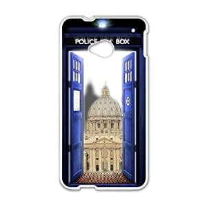 HTC One M7 Phone Case Doctor Who Tardis Police Call Box V8T92870