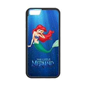 7 Installed The Little Mermaid Scratch-Resistant Protective Hard Cover for iPhone 6(4.7)