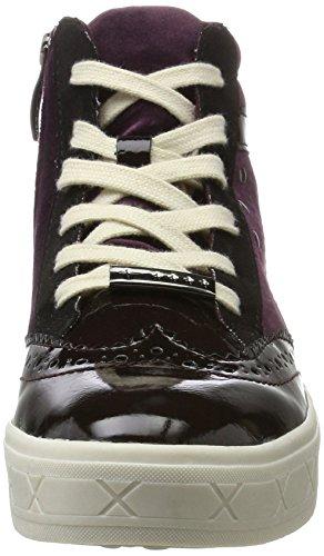 25207, Baskets Hautes Femme, Gris (Graphite Comb), 38 EUTamaris