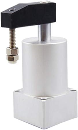 B Baosity 90/° Cilindro de Abrazadera de Giro Neum/ático Cilindro de Prensado Cilindro de Doble Efecto SRC25-R