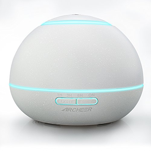 Essential ARCHEER Ultrasonic Whisper Quiet Humidifier
