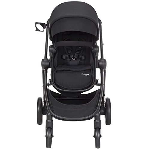 Maxi-Cosi Zelia 5-in-1 Modular Travel System Stroller and Mico 30 Infant Car Seat Set (Night Black) by Maxi-Cosi (Image #7)