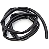 amazon com pvc black tube sleeve for wire 10 feet harness 11mm black wire harness tubing high temperature 10 foot roll