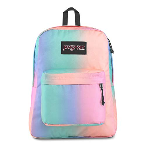 JanSport Black Label Superbreak Backpack - Lightweight School Bag | Pastel Ombre