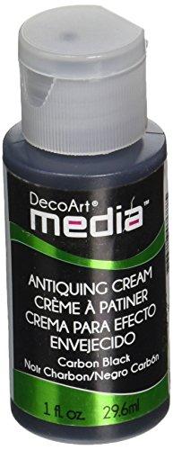 Deco Art Media Antiquing Cream, 1-Ounce, Carbon ()