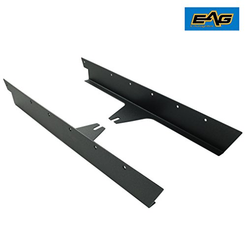 EAG Off Road Armor Rock Sliders Rock Rails Guards for 87-96 Jeep Wrangler YJ 95 Jeep Wrangler Stone Guard