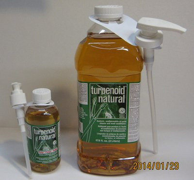 (Martinfweber 1825 Turpenoid Natural with Pump - 1.89 Liter)