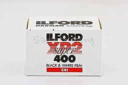 ILFORD XP2 SUPER 400 FILM B&W 35MM 36EXP C41 PROCESS (Pack of 10)