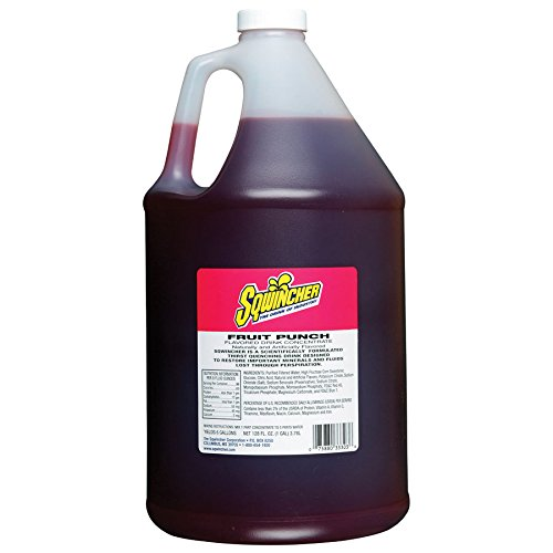 SQWINCHER 030321-CH 5-Gal. Cherry Liquid Concentrate (Price is for 6 Bottle/Case)