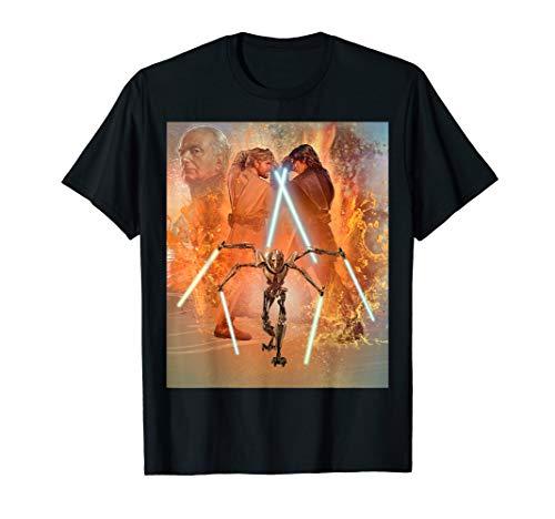- Star Wars Celebration Mural Revenge of the Sith T-Shirt