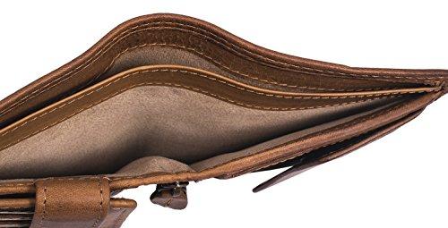 Qualità Aspetto Porta Di Banconote Marrone Portafoglio Carte Credito Bufalo Un Burry Hill Uomo Vera 2 Con Vintage In Portamonete Md Pelle Portafogli w0xx67FzUq