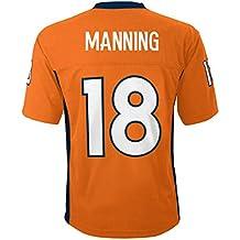 Peyton Manning Denver Broncos #18 Orange Youth Home Mid Tier Jersey