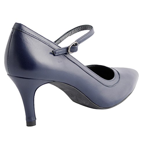 Shoes Navy Paris Exclusif Court Women's gR78qxnwOZ