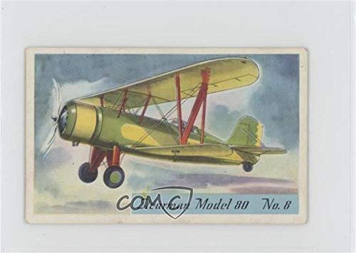 Stearman Model 80 (Trading Card) 1935-39 Heinz Famous Airplane Pictures 2nd Series (Script) - - Airplanes Famous