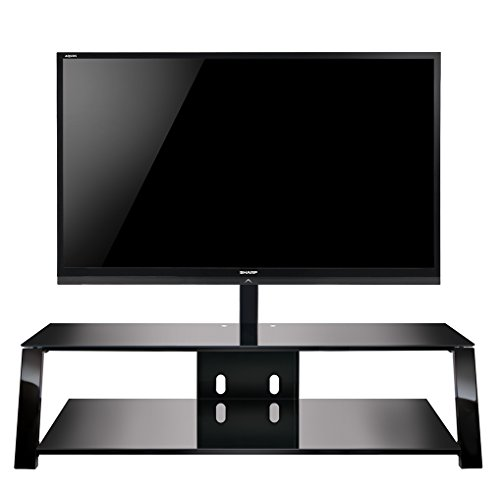 Bell'O TP4463 Triple Play 63' TV Stand for TVs up to 70', Black