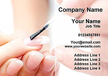 5000 nail technician manicure salon personalised business cards 5000 nail technician manicure salon personalised business cards reheart Images