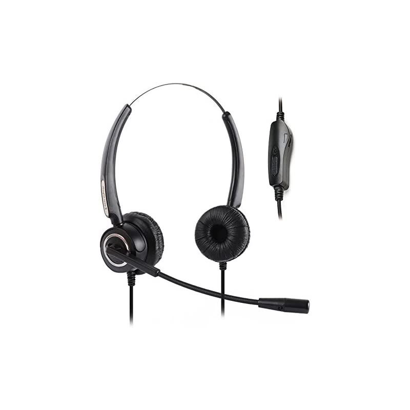Volume and Mute Switch Headphone Office