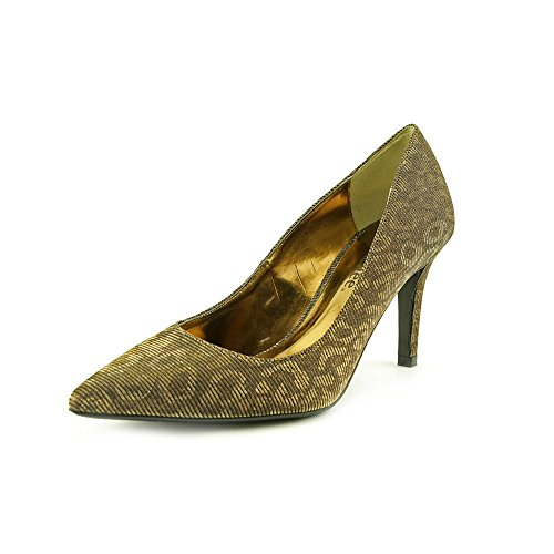 J mujer Metallic Renee Sandalias Fabric para de vestir Brown BB6wqr