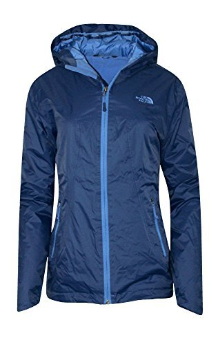 The North Face Womens Insulated Boreal Hooded Rain Jacket (M, Midline Blue) The North Face Insulated Coat