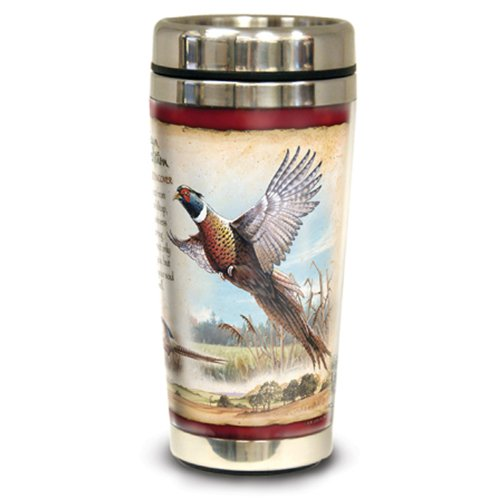 American Expedition Wildlife Steel Travel Mug (Common Pheasant)