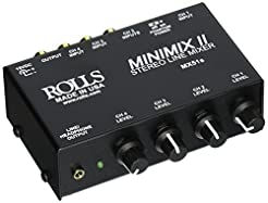 Rolls MX51S Mini Mix 2 Four-Channel Ster...