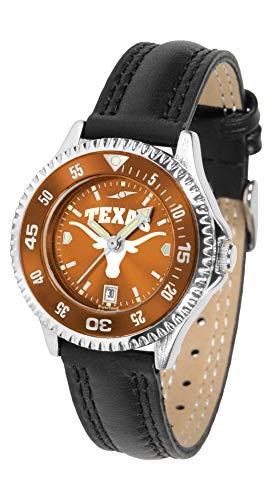 Texas Longhorns - Competitor Ladies' AnoChrome - Color Bezel