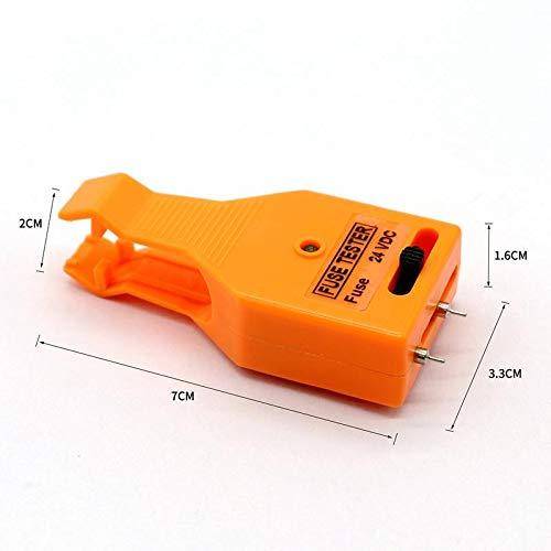REFURBISHHOUSE Multifuncional Detector de Fusibles para Yate de Coche Ajustable Detector de Iluminaci/ón Varilla Doble Uso Eyector de Fusible